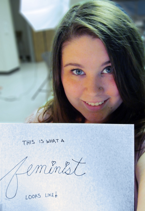 This is what a feminist looks like!